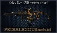 Kriss S.V CRB Arabian Night