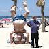 Disciplina relativa en Tel Aviv en tiempos de pandemia