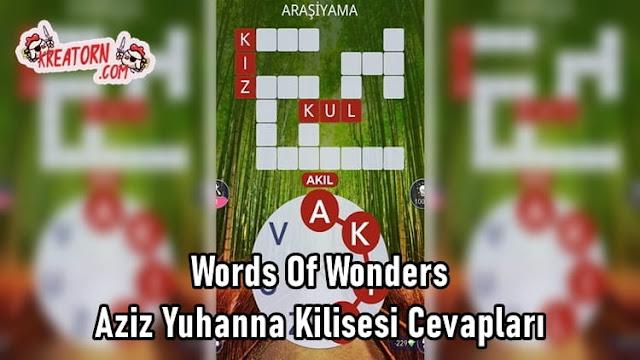 Words-Of-Wonders-Aziz-Yuhanna-Kilisesi-Cevaplari