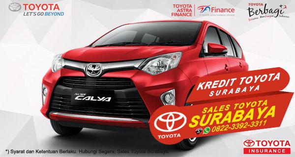 Promo DP Ringan, Paket Kredit Toyota Calya Surabaya