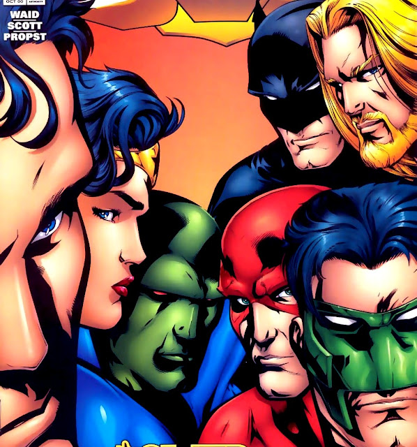 Mega Post: LJA - Liga da Justiça da América - Parte 1 (Leitura Pré-Crise Infinita)