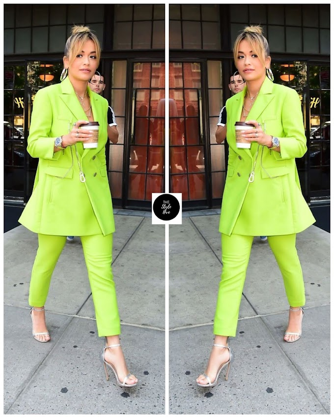 Make BOLD Moves Like These 6 Gorgeous Women In Brightly Coloured Suits.