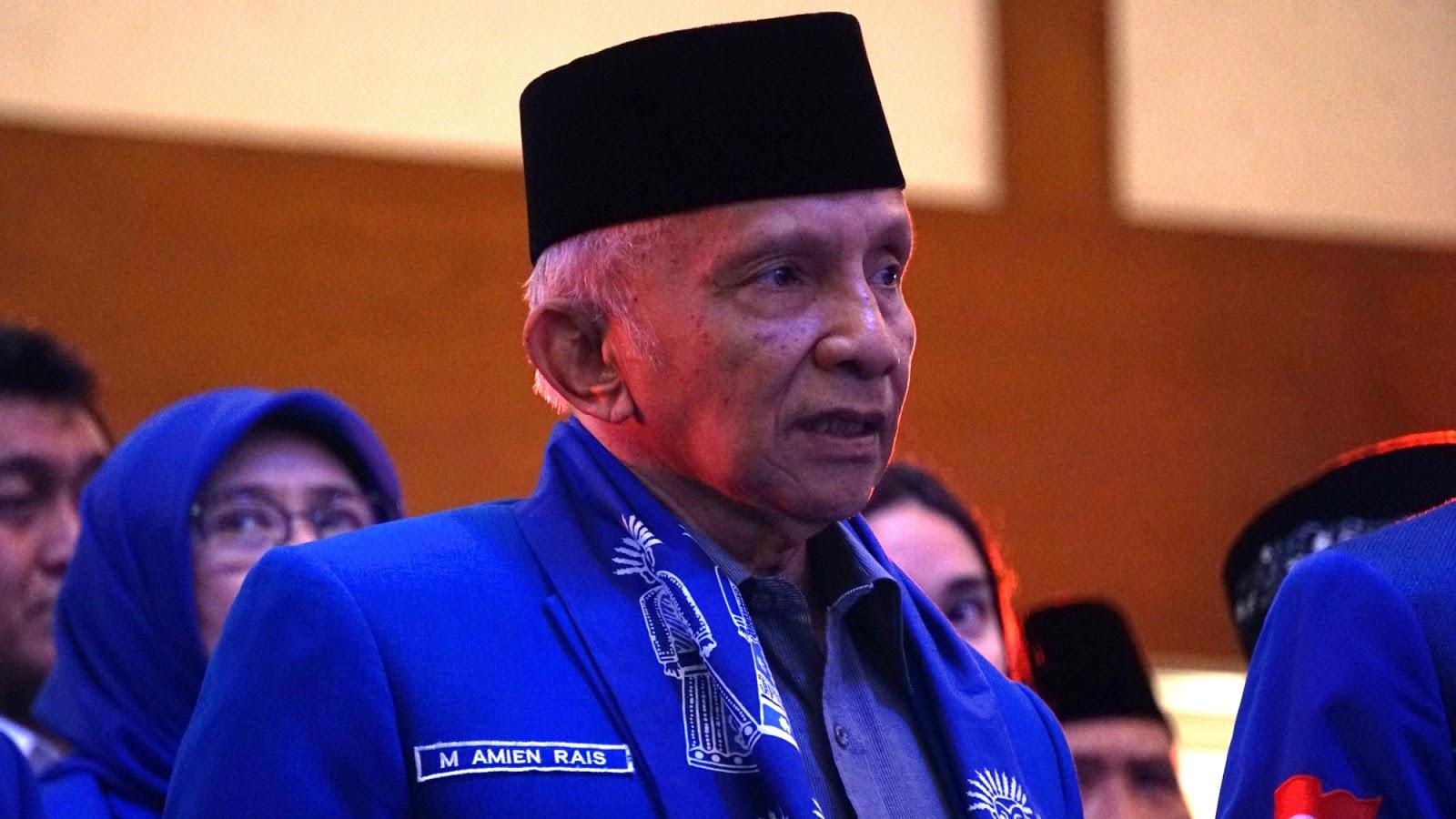 PAN Kunjungi Jokowi, Ini Tanggapan Amien Rais