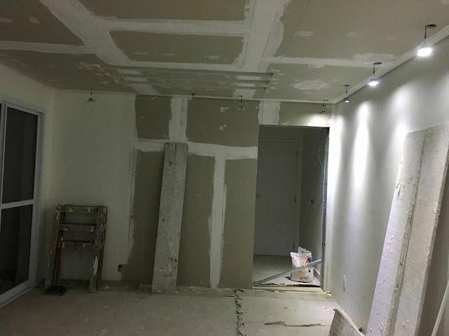 Gesso - Drywall - forro- rebaixos - sancas - molduras