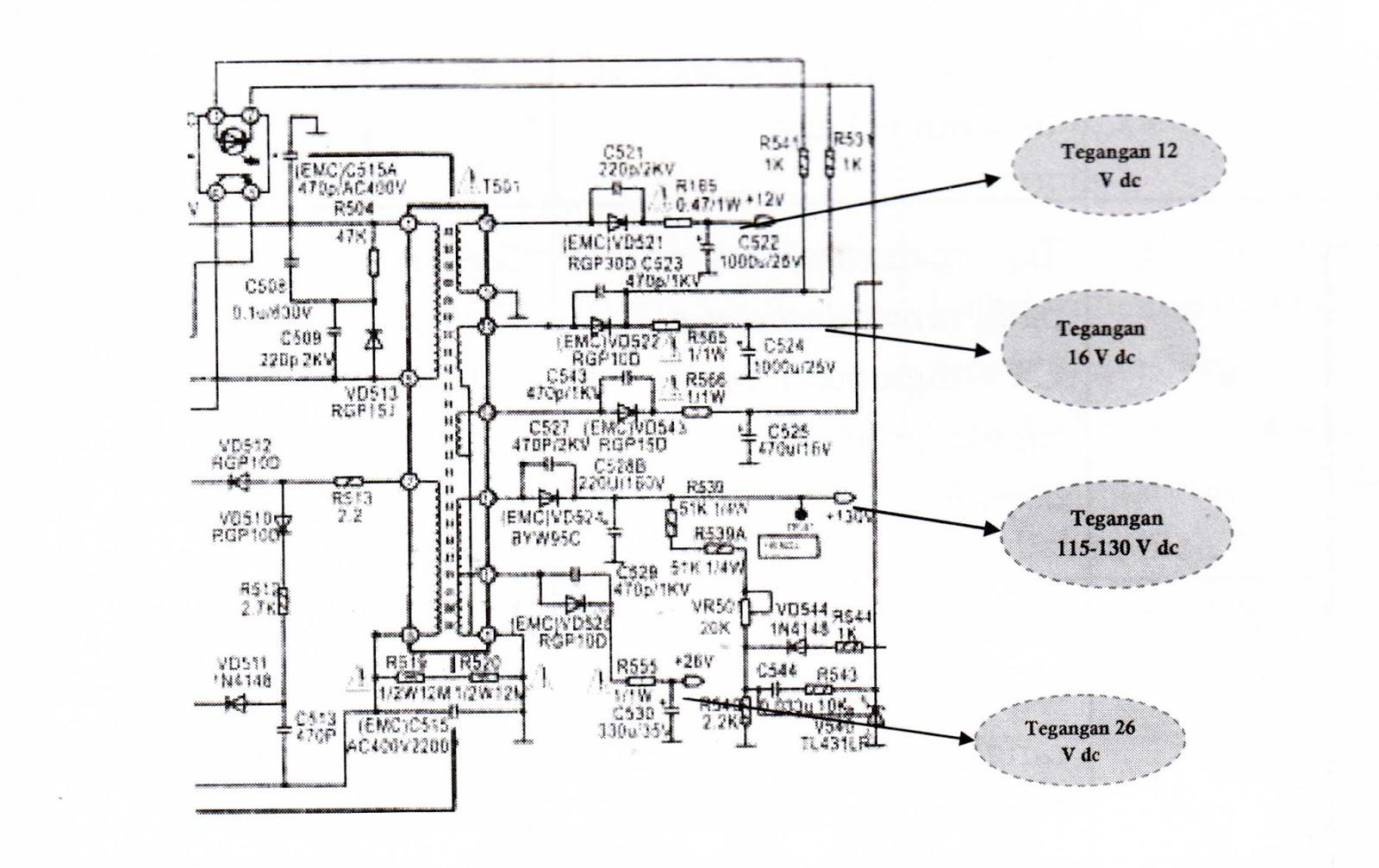 Beautiful Str W6553 Tv Circuit Diagram Power Supply Model ...