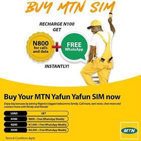mtn yafun yafun free whatsapp