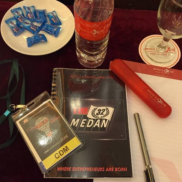 bersedia kaut ilmu cdm conference