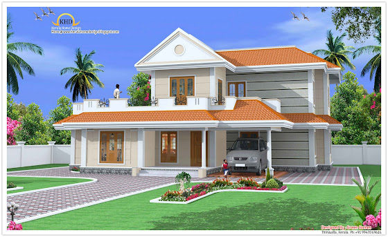 225 Square Meter (2425 Sq.Ft)duplex house design - October 2011