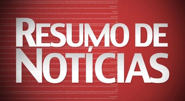 DESTAQUES DO DIA: notícias do Piauí, mercado financeiro, loterias, jornais desta segunda-feira, 12 de agosto 2019