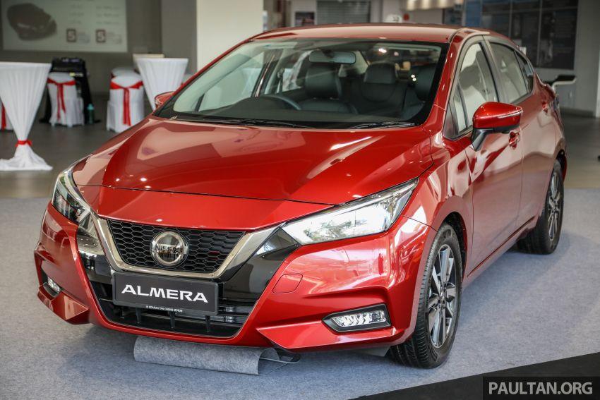 Gambar Nissan Almera 2020 Baharu