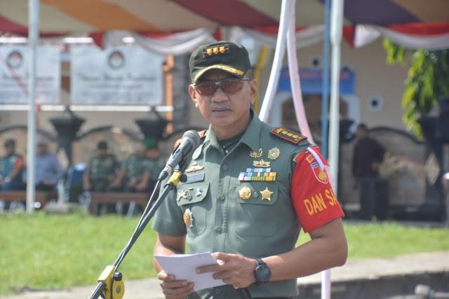 Danrem 071/Wijayakusuma Pimpin Pasukan PAM VVIP presiden RI
