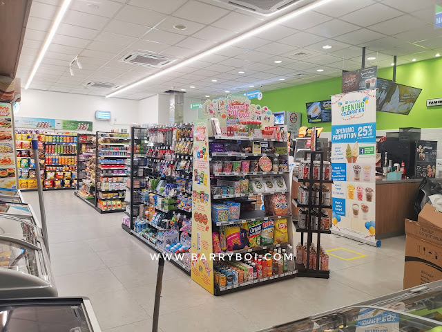 Penang Farlim FamilyMart Air Itam Penang Blogger Influencer Penang Convenience Store