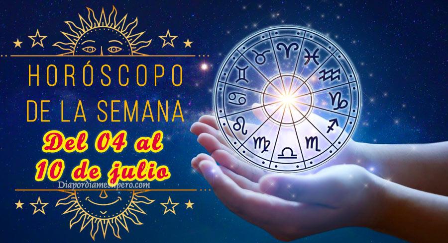 Horóscopo de la semana: Del 04 al 10 de julio