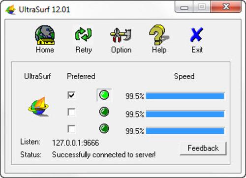 UltraSurf ~ free download