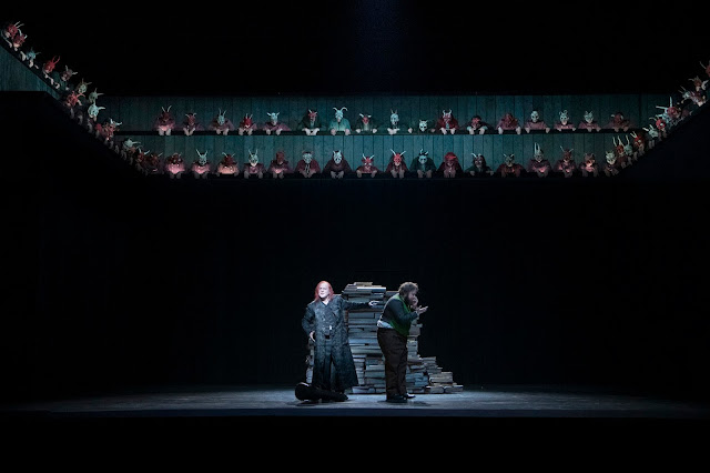 Berlioz: La damnation de Faust - Chritopher Purves, Allan Clayton - Glyndebourne Festival 2019 (Photo Richard Hubert Smith)