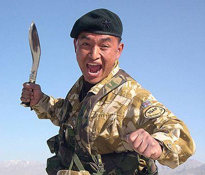 L 233 Cho Du Champ De Bataille Les Gurkhas Des 233 Trangers