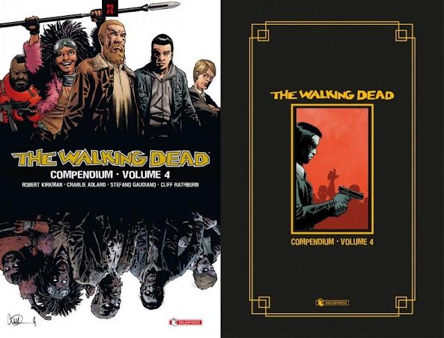 The Walking Dead: Compendium - Volume 4 (versione standard e hardcover)