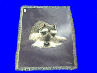 Schnauzer Blanket Throw Tapestry