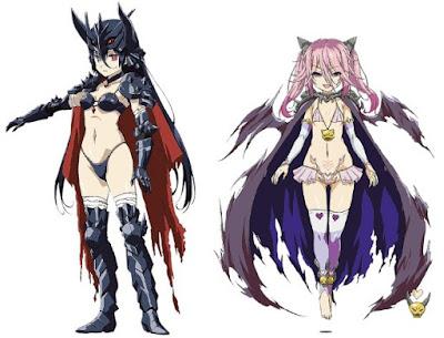 Eri Kitamura como Black Knight / Caballero Negro (diseño de AKIRA) Akane Fujita como Necromancer / Nigromante (diseño de Akazawa RED)