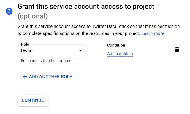 GCP service account access