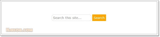 Clean Search Box For Blogspot