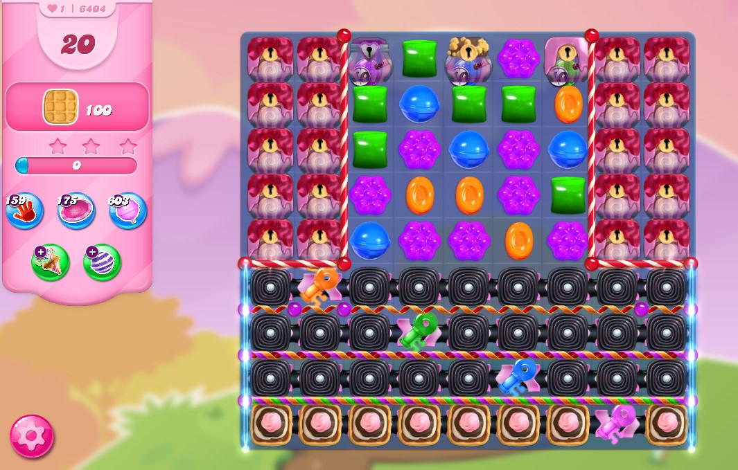 Candy Crush Saga level 6404