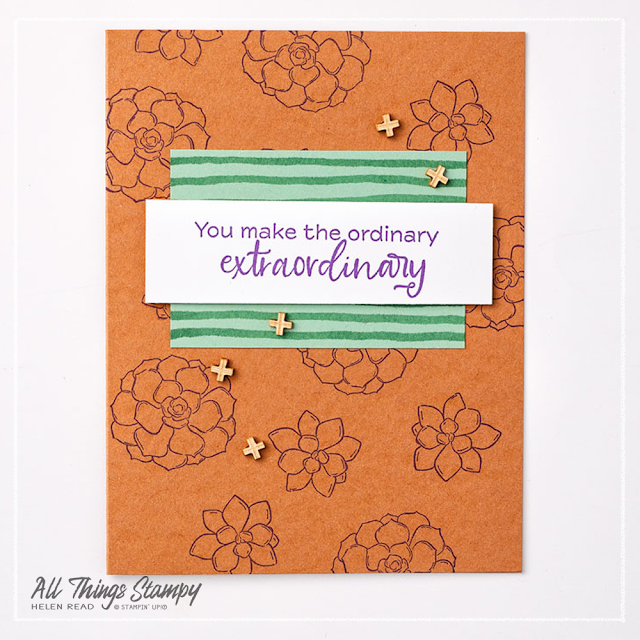 Simply Succulents card ideas Stampin Up