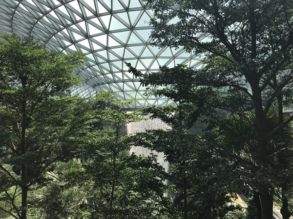 Jewel Changi Aiport, Singapura,