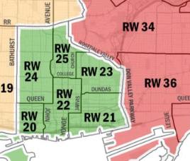 Toronto ward 20 boundaries in dating 4