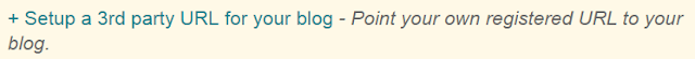 Configure domain name