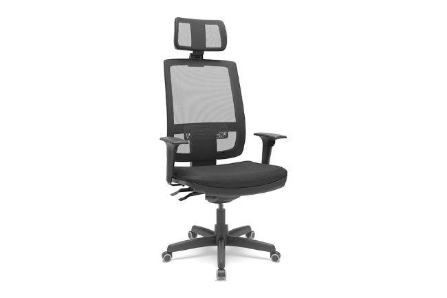 Cadeira de Escritório Brizza Braço 3D Backplax