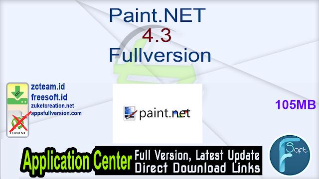 Paint.NET 4.3 Fullversion