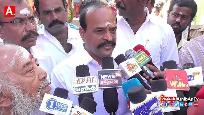 அராஜகத்திற்கு மொத்த உருவமே திமுக : அமைச்சர் கடம்பூர் ராஜூ விமர்சனம்
