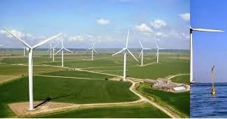Offshore wind energy contract for difference