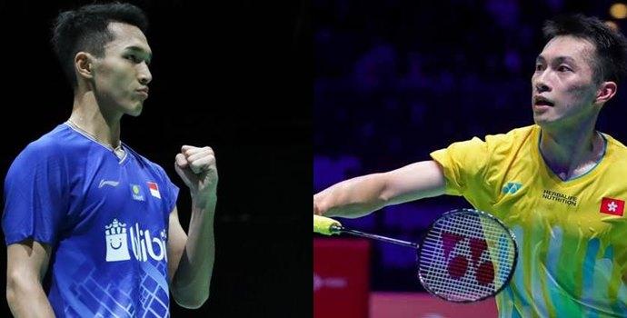 Siaran Langsung Perempat Final Malaysia Masters Jonatan Christie
