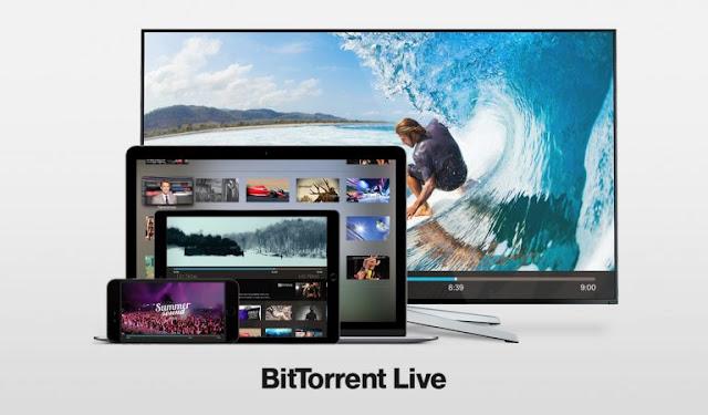 """""""بت تورنت لايف"""" منصة لبث الفيديو عبر الإنترنت"""