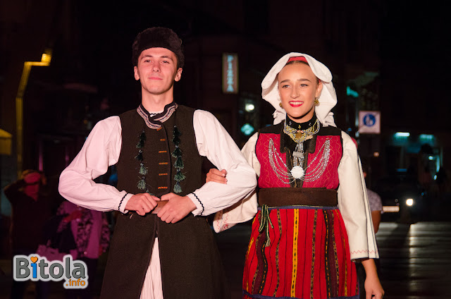 Macedonian national costumes - Ethnic area Lerinsko Pole