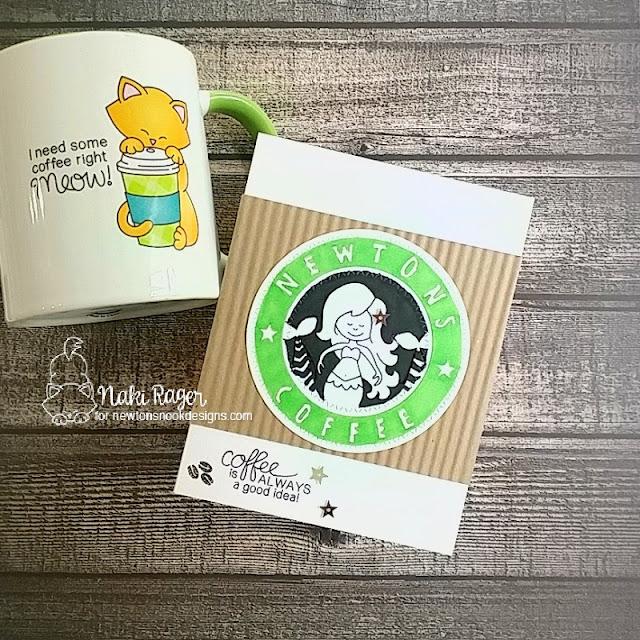 Newton's Nook Designs Narly Mermaids & Newton Loves Coffee Sets - Naki Rager