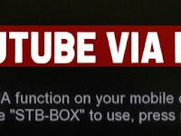Cara Nonton Youtube Di Receiver Matrix Extra HD