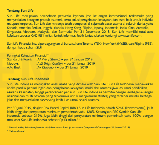 tentang sun life indonesia