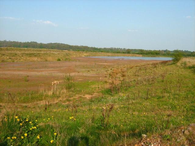 Dried up lake at Spath