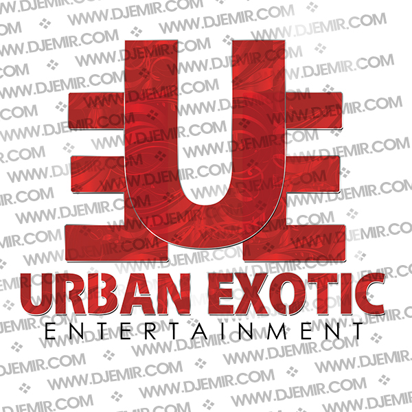 Urban Exotic Entertainment Logo Design Version 3