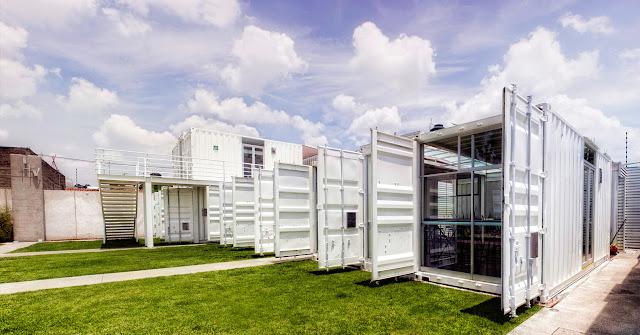 La Secundaria Valladolid - Modular Shipping Container School, Mexico 2