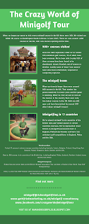Infographic about the Crazy World of Minigolf Tour