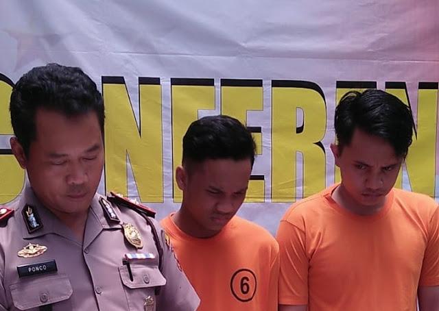 Dua Pemuda Ditangkap Setelah Mengeroyok Anggota Polisi