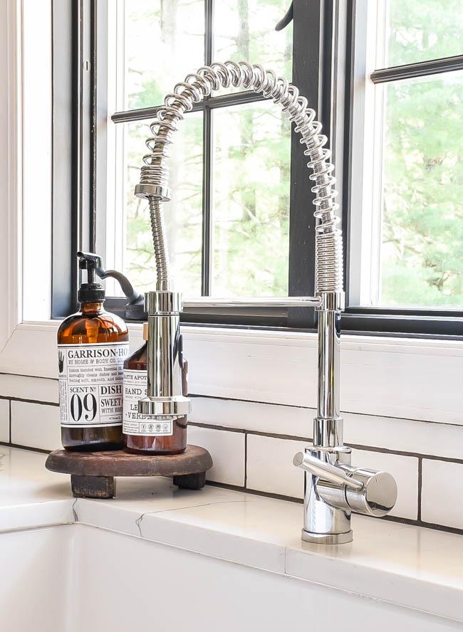 Blanco chrome faucet