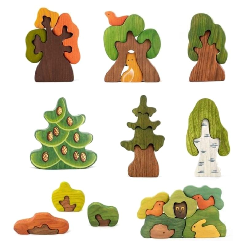 mikheev wooden trees