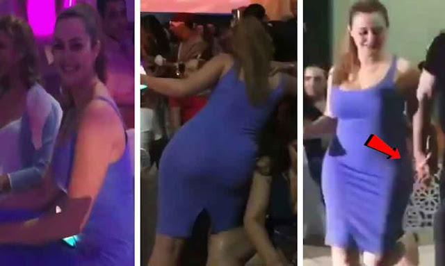 فضيحة رانيا التومي تشطح سكرانة في حفلة خاصة...شاهد قبل الحذف