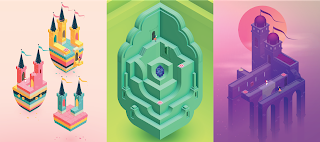 Monument Valley: space puzzle