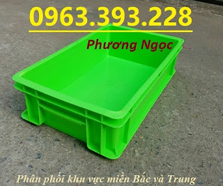 tndb2.4 - Thùng nhựa B2, khay nhựa đặc, hộp nhựa B2, sóng nhựa công nghiệp có nắp